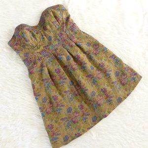 Free People Mini Strapless Dress